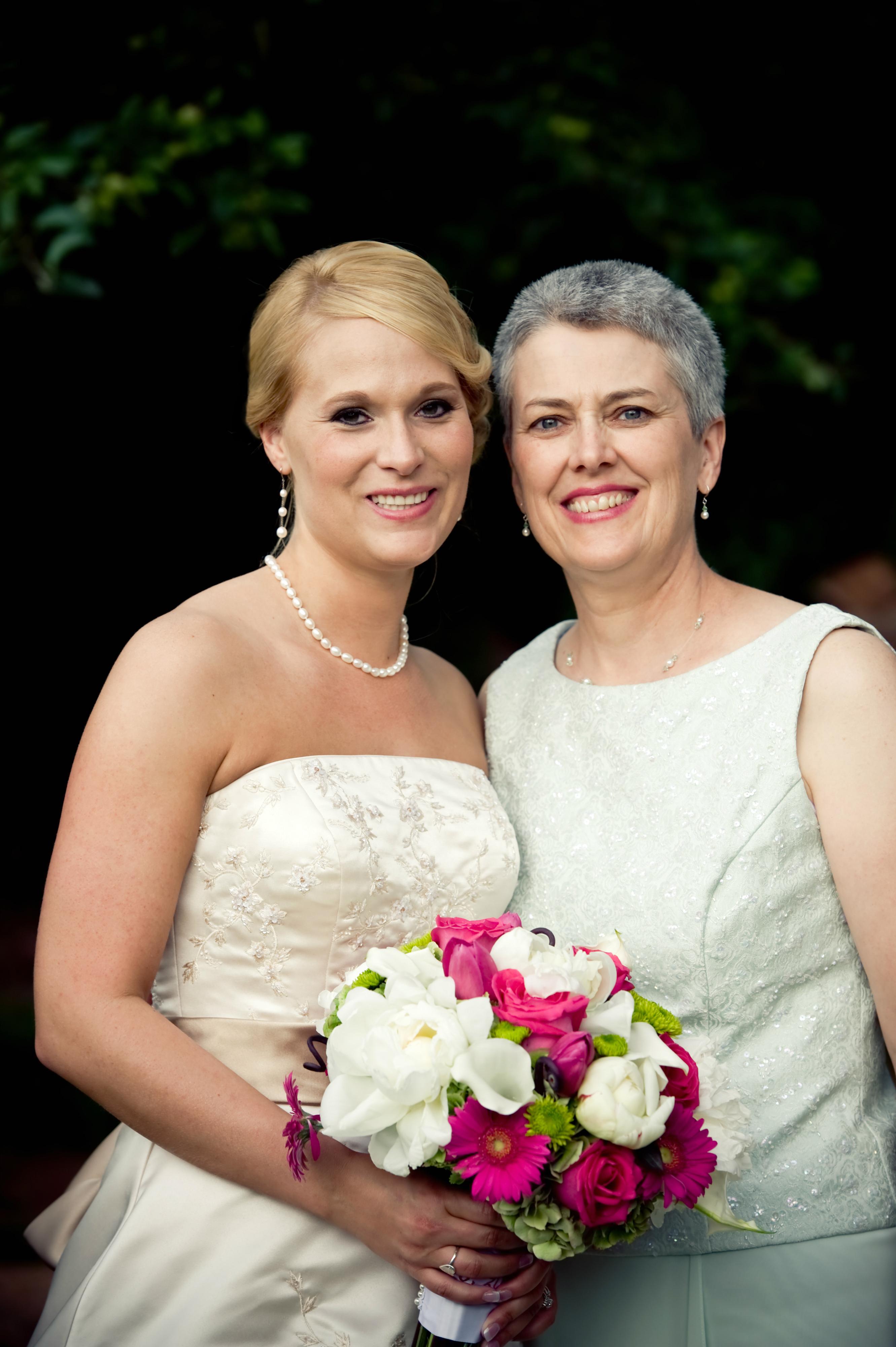Bride, Mom
