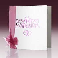Stationery, white, pink, Invitations
