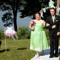 Ceremony, Flowers & Decor, Bridesmaids, Bridesmaids Dresses, Fashion, green