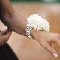 white, Corsages, Classic Wedding Flowers & Decor