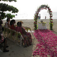 Ceremony, Flowers & Decor, Beach, Beach Wedding Flowers & Decor, Wedding, Ailse