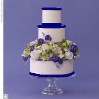 Cakes, purple, blue, cake, Round