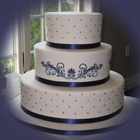 Cakes, blue, cake, Navy