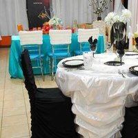 Ceremony, Reception, Flowers & Decor, white, black, silver, Inspiration board