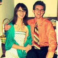 white, orange, blue, Engagement