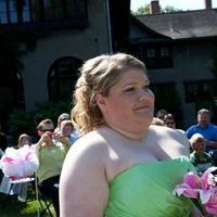 Ceremony, Flowers & Decor, Bridesmaids, Bridesmaids Dresses, Fashion, pink, green