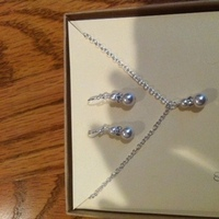Jewelry, white, Bridesmaid, Flowergirl, Junior