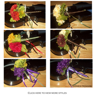 Flowers & Decor, Favors & Gifts, white, yellow, orange, red, purple, blue, green, brown, black, gold, Favors, Fall, Flowers, Fall Wedding Flowers & Decor, Flower, Floral, Pens