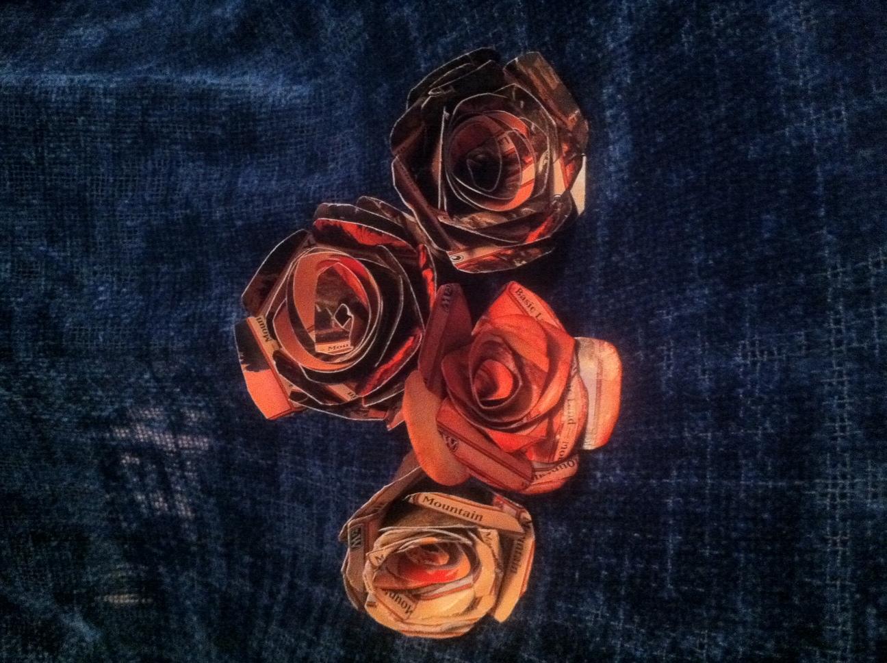 Flowers & Decor, red, Flowers, The, Magic, Gathering, Nerd