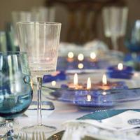 Reception, Flowers & Decor, blue, Inspiration board