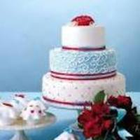 Cakes, red, blue, cake, Inspiration board