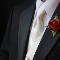 Flowers & Decor, Boutonnieres, Flowers, Boutonniere, Origami