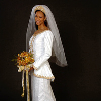 Wedding Dresses, Fashion, white, gold, dress