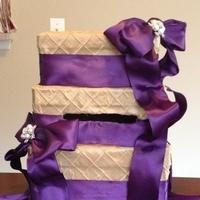 purple, gold