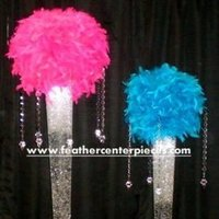 Beauty, Feathers, Centerpieces