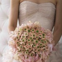 Flowers & Decor, Wedding Dresses, Fashion, yellow, pink, dress, Flowers, Flower Wedding Dresses