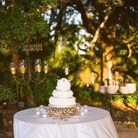 Cakes, white, gold, cake, Tessa john
