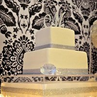 Reception, Flowers & Decor, Cakes, silver, cake, Inspiration board