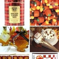 Inspiration, Favors & Gifts, orange, red, brown, gold, Favors, Fall, Wedding, Candy, Board, Apples, Inspiration board, Corn, Maple, Syrup