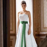 Wedding Dresses, Fashion, white, green, dress