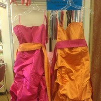 Wedding Dresses, Fashion, orange, pink, dress