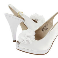 Flowers & Decor, Shoes, Fashion, white, Flowers, Flower Wedding Dresses