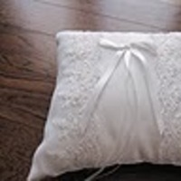 Ceremony, Flowers & Decor, white, Ring, Pillow, Bearer