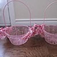 Ceremony, Flowers & Decor, pink, Flower, Girl, Basket