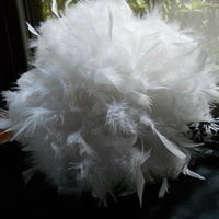 Beauty, DIY, Flowers & Decor, white, Feathers, Bride Bouquets, Flowers, Bouquet, My, Feather, Mahoganieyes