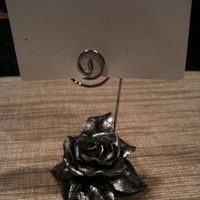 Reception, Flowers & Decor, silver, Table, Number