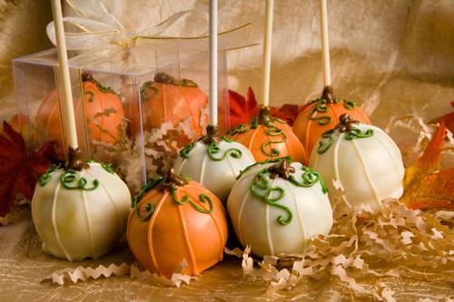 Favors & Gifts, Cakes, white, orange, cake, Favors, Pop