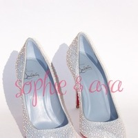 Shoes, Fashion, white, Bling, Crystals
