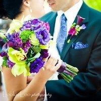 Flowers & Decor, purple, blue, green, Flowers