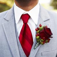 Fashion, red, Men's Formal Wear, Grey, Tie, Rose, Boutonniere, Suit, Cranberry, Cami erik