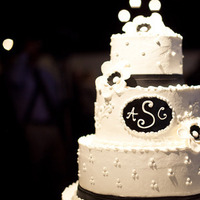 Cakes, white, black, cake, Black and white, Anemone, Dan klutz photography, Edible artistry