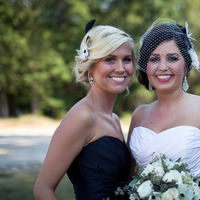 Beauty, Bridesmaids, Bridesmaids Dresses, Fashion, white, black, Makeup, Hair, Dan klutz photography