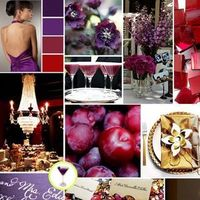 pink, red, purple, Inspiration board