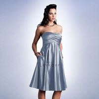 Bridesmaids, Bridesmaids Dresses, Fashion, silver, Pockets, Levkoff, Bill