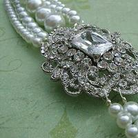 Jewelry, white, Bracelets, Pearls, Bracelet