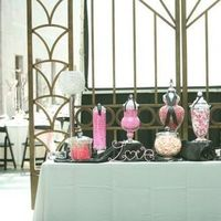 Reception, Flowers & Decor, pink, black, Candy, Buffet