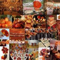 orange, red, brown, Fall, Inspiration board, Autumn, Carnival, Pumpkins
