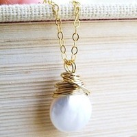 Jewelry, Bridesmaids, Bridesmaids Dresses, Fashion, white, gold, Necklaces, Necklace, Pearl, Coin, Brideasmaid