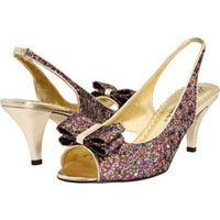 Shoes, Fashion, purple, gold
