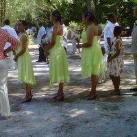 Beauty, Ceremony, Flowers & Decor, Bridesmaids, Bridesmaids Dresses, Wedding Dresses, Shoes, Fashion, purple, green, dress, Makeup, Ceremony Flowers, Bridesmaid Bouquets, Flowers, Hair, Flower Wedding Dresses