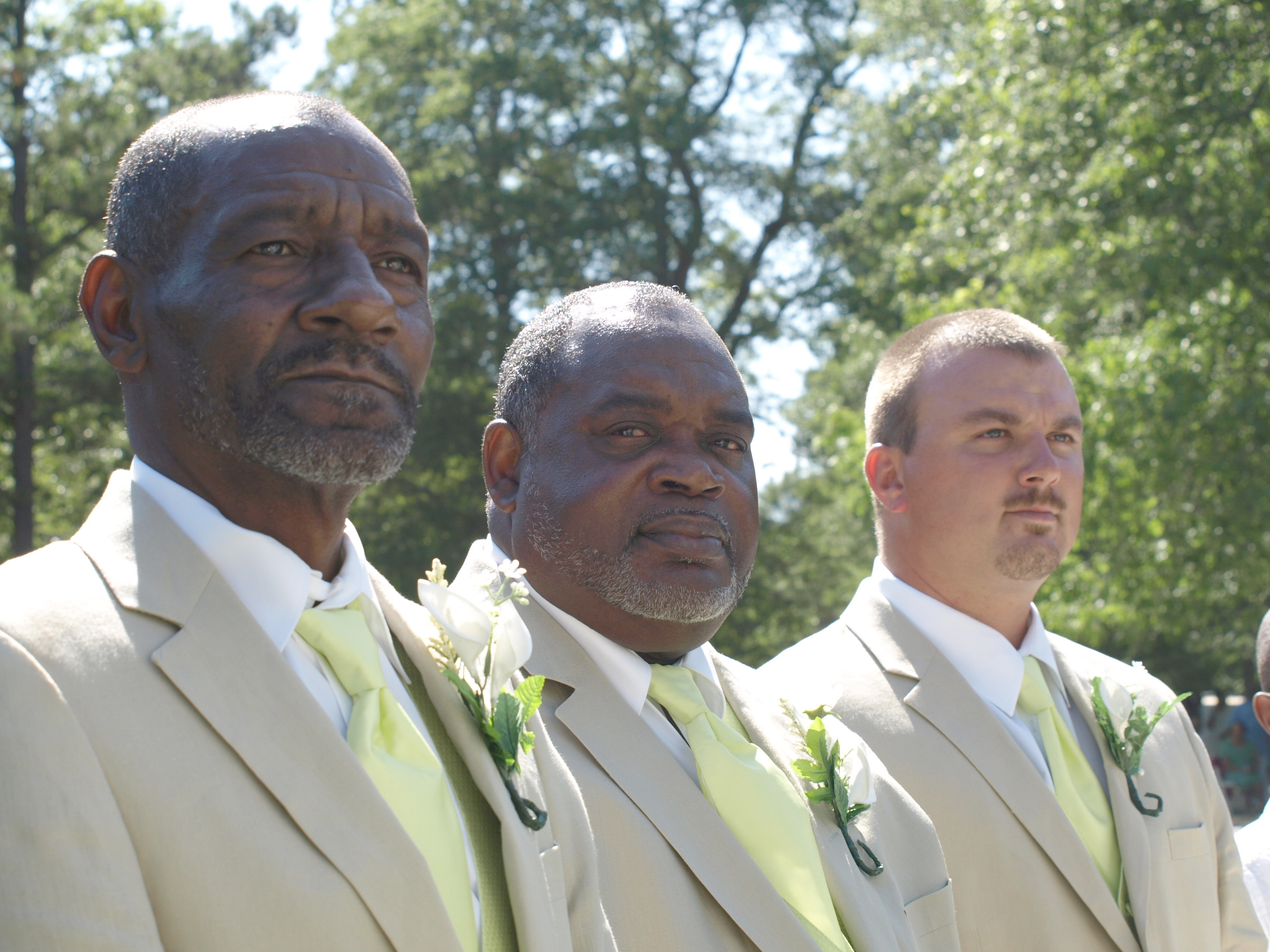 Groomsmen, Linen, Suits