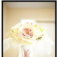 Ceremony, Flowers & Decor, white, pink, silver, gold, Ceremony Flowers, Flowers