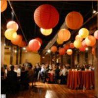 Reception, Flowers & Decor, orange, Lanterns