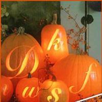 Reception, Flowers & Decor, orange, Pumpkins