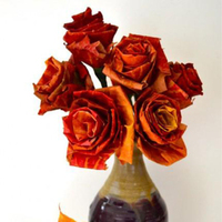 Reception, Flowers & Decor, orange, red, Leaves, Craft