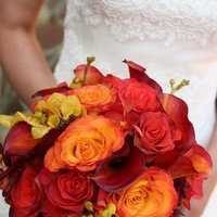 Flowers & Decor, orange, red, Flowers